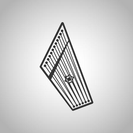 Cymbals: harp icon