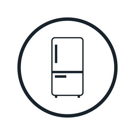 fridge: fridge flat icon