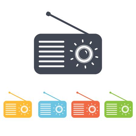 surround system: music center icon Illustration