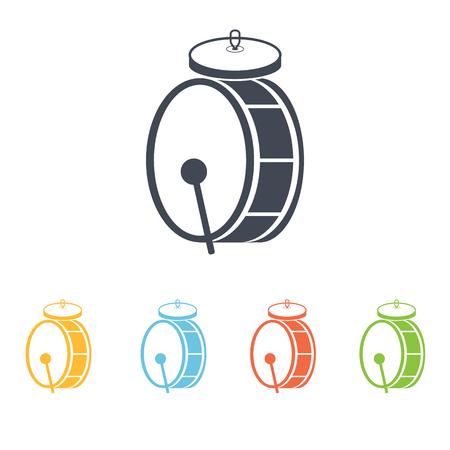 drum icon Illustration
