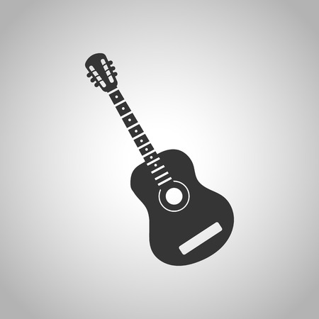 chanson: acoustic guitar icon