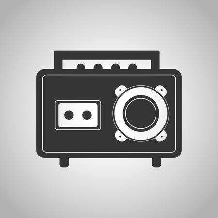 communicatio: record player icon