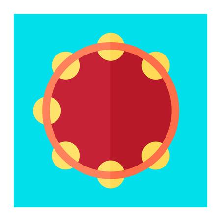 pandero: icono pandereta