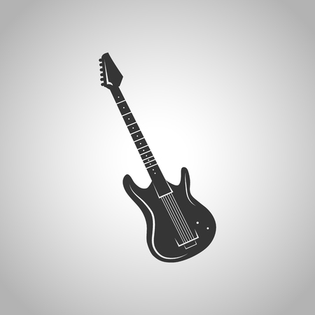 electric hole: electric guitar icon