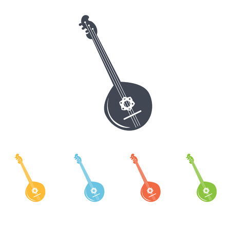 mandolin icon Illustration