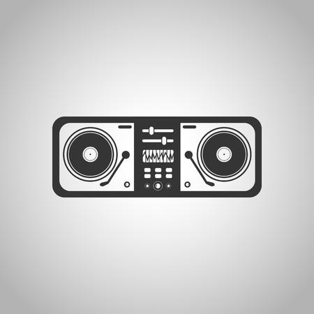 turntable: turntable icon Illustration