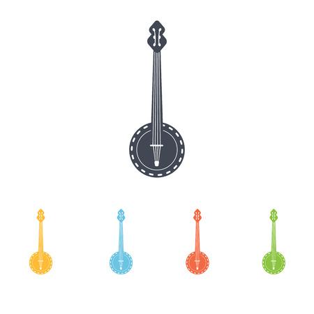 mandolin: mandolin icon Illustration