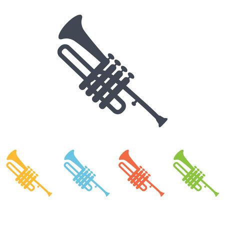 trumpet icon Illustration