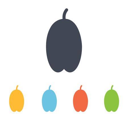 date fruit: date fruit icon Illustration