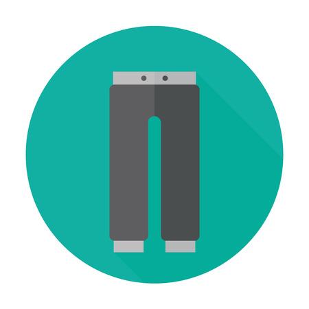 breeches: pants icon Illustration