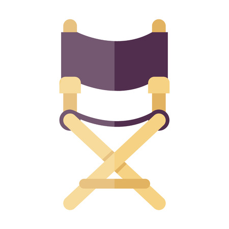 director chair icon Illustration
