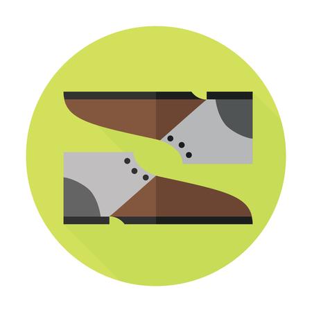 chock: shoe icon Illustration
