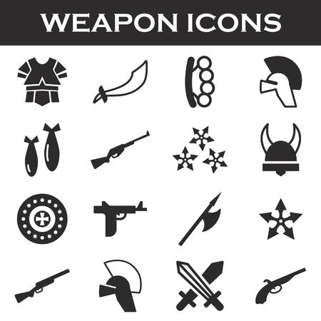 truncheon: weapor icons set