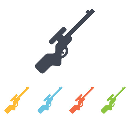 rifle icon Illustration