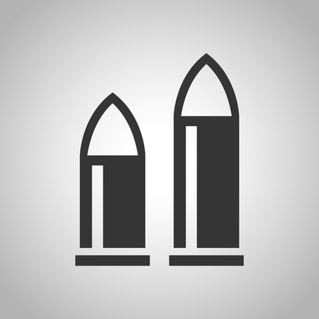 tool chuck: rifle icon Illustration