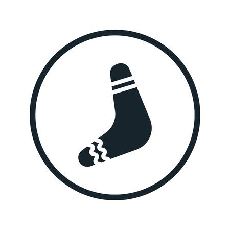 boomerang icon Illustration