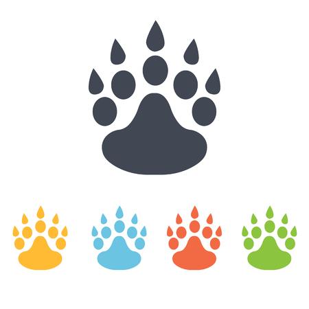 huellas de animales: icono de huellas de animales