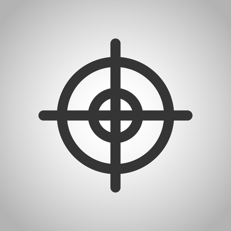 chuck: rifle icon Illustration