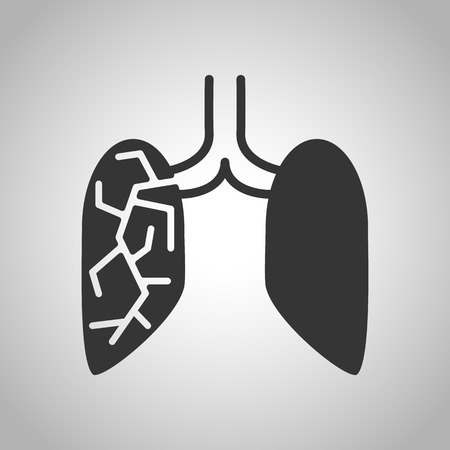 human organs icon Illustration