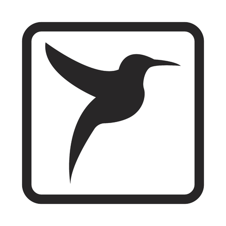 small group of objects: bird icon