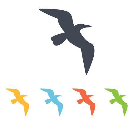 feathered: bird icon