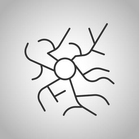 tumors: human organs icon Illustration