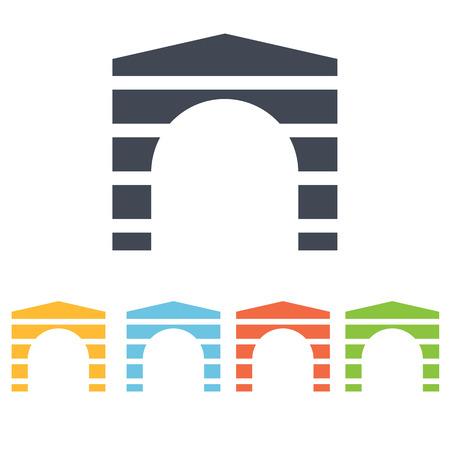 triumphal arch: triumphal arch icon