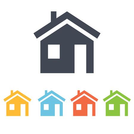private house icon Illustration
