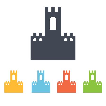 castle icon Illusztráció