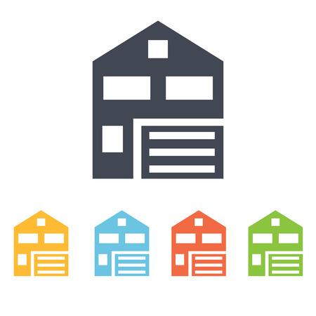 habitation: private house icon Illustration