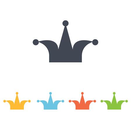icône de clown Vecteurs