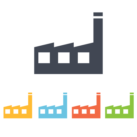 construction plant: factory icon