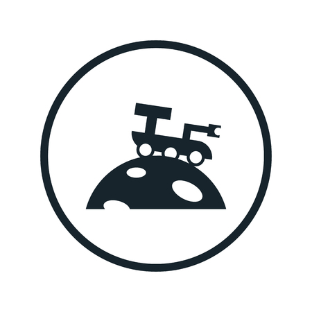moon rover: space rover icon