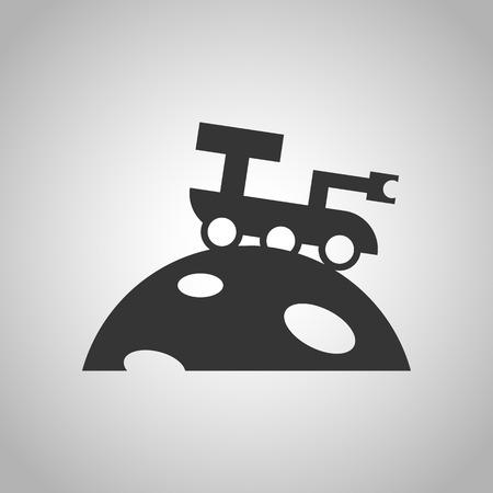 moon rover: space rover icon