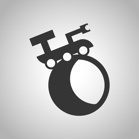 rover: space rover icon