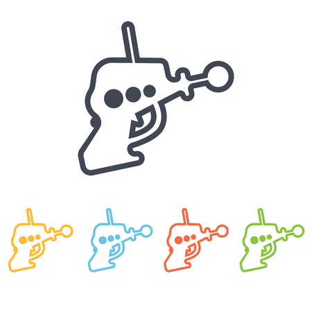 space blaster icon Illustration
