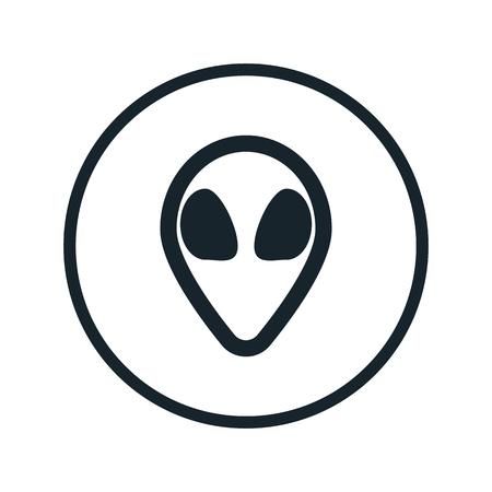 feelers: space alien icon