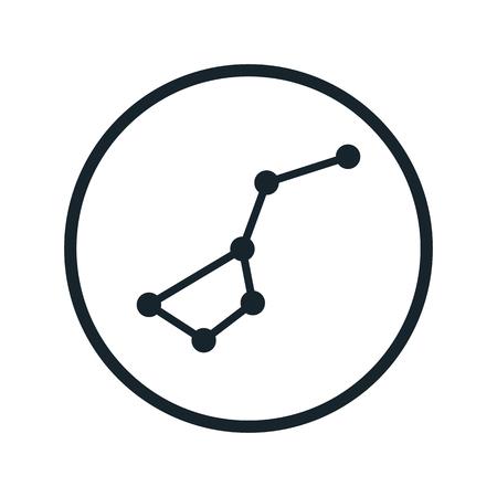 constelacion: icono de la constelación