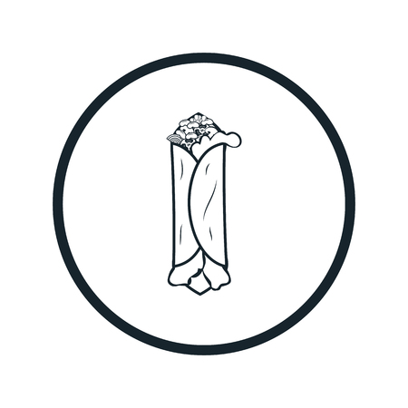 pita bread: tacos icon