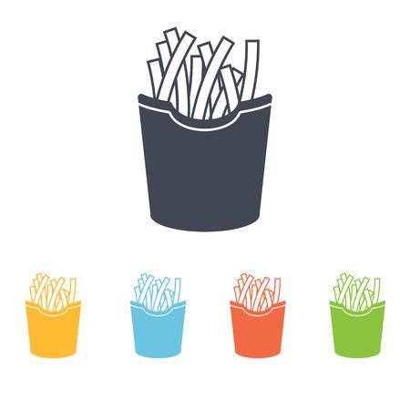 oily: french fries icon