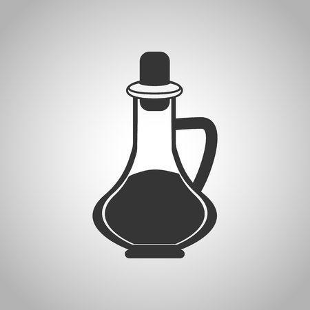 soy: soy sauce icon Illustration