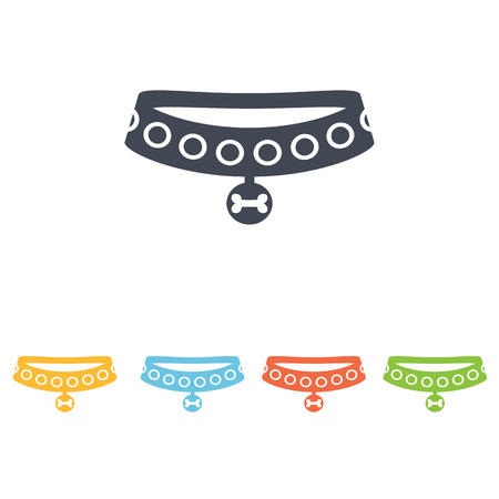 spiked: dog collar icon