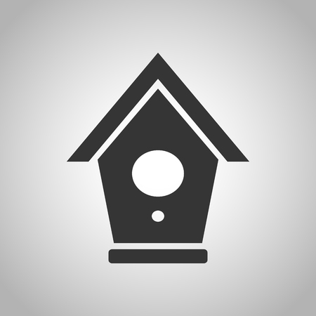 nesting box: nesting box icon Illustration
