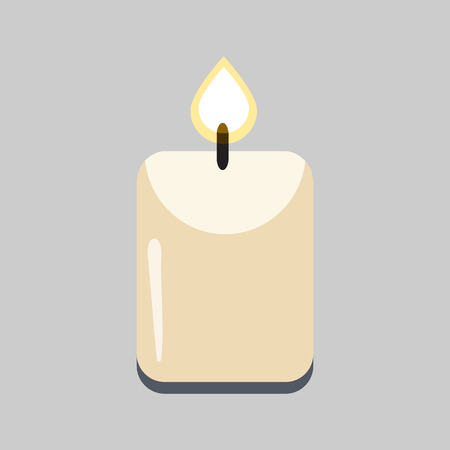 ordered: candle flat icon