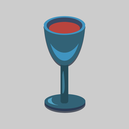 ordered: wine glass flat icon