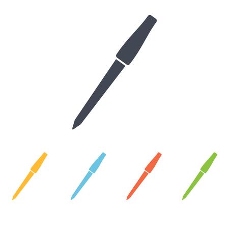 nail file: nail file icon Illustration