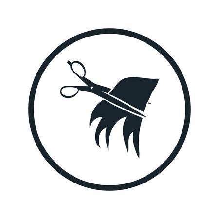 cut hair: cut hair icon