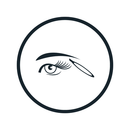tweezers: eyebrow tweezers icon