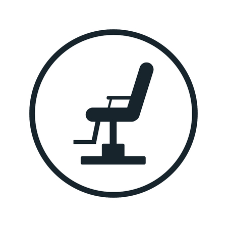 Manicure chair icon