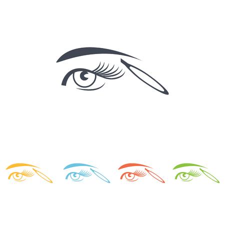 eyebrow tweezers icon